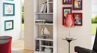 Organize e decore com estantes incríveis