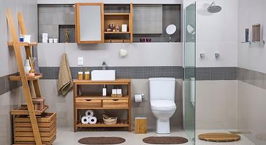 Organize e decore seu banheiro com produtos de sucção