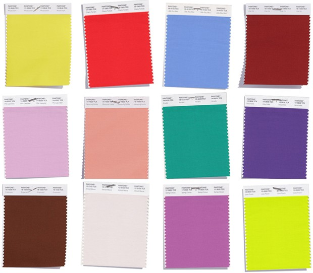 Pantone divulga as cores da primavera 2017 2018 for Pantone 2017 2018
