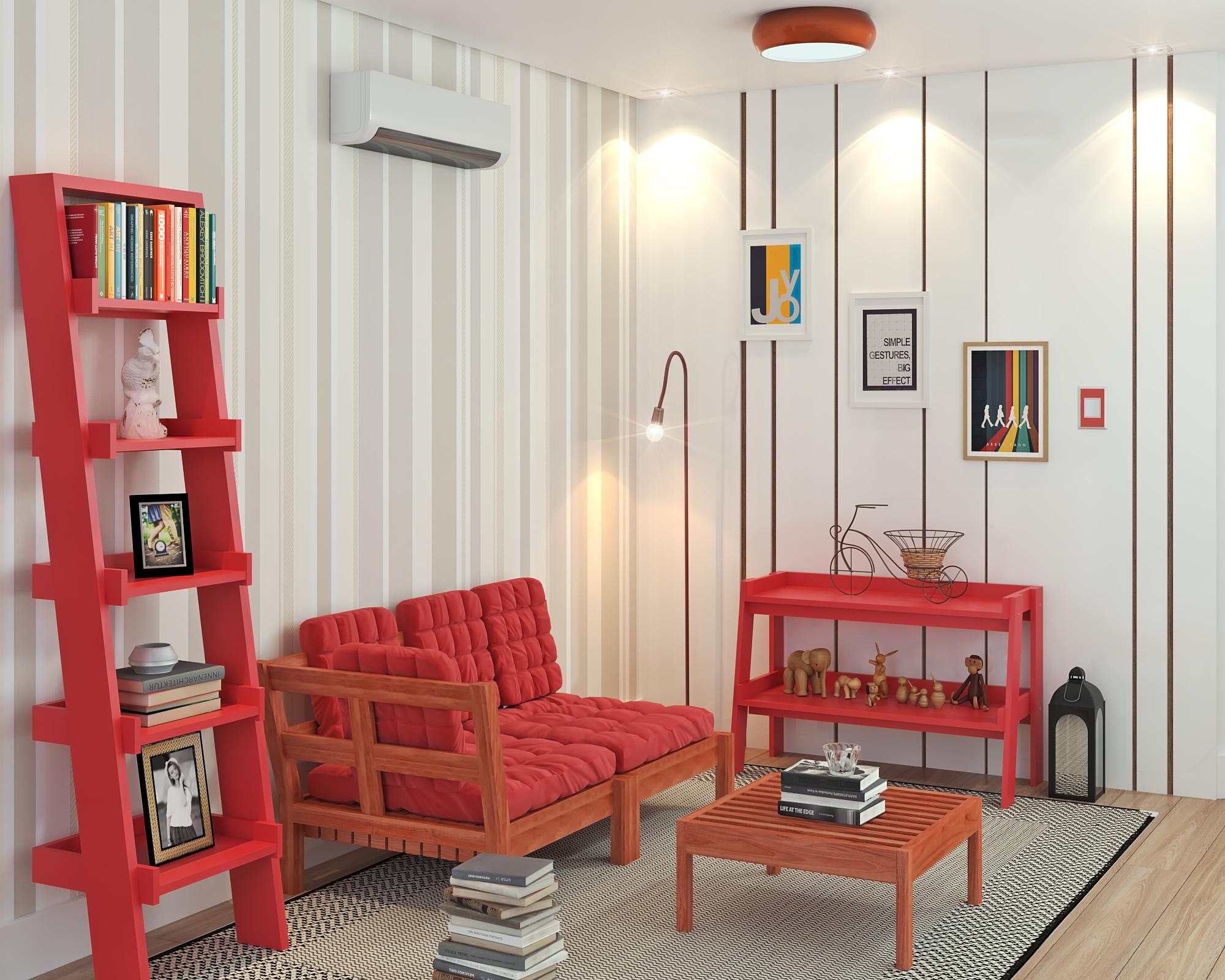 Papel de parede para quarto e sala fotos de 5 estilos - Bastidor para lienzo leroy merlin ...