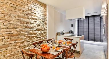 Pedras decorativas para parede de ambientes internos e externos são opções diferentes de revestimentos