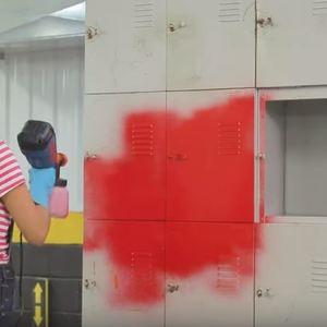 Pistola de pintura com compressor passo a passo de como usar for Pulverizador leroy merlin
