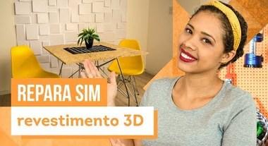 Placa de revestimento 3D