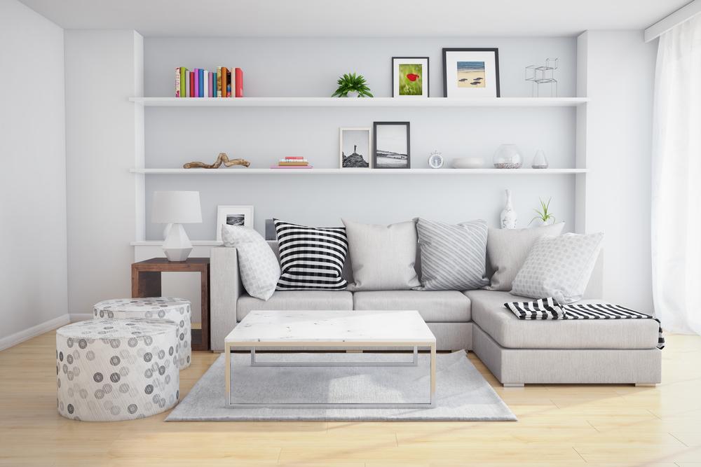 Prateleira para quadros acima do sof como usar na decora o - Bater leroy merlin ...