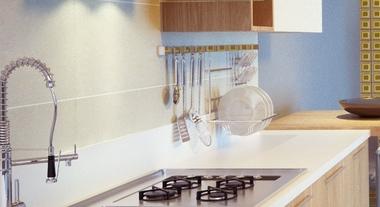 Praticidade na medida certa com os misturadores monocomando para cozinha