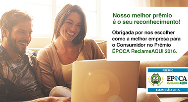 Prêmio Época Reclame Aqui 2016