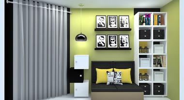 Projeto estilo hype do arquiteto Gerson Dutra de Sá