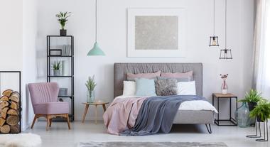 Quarto cinza: como montar uma decoração estilo tumblr com vários tons dessa cor de parede