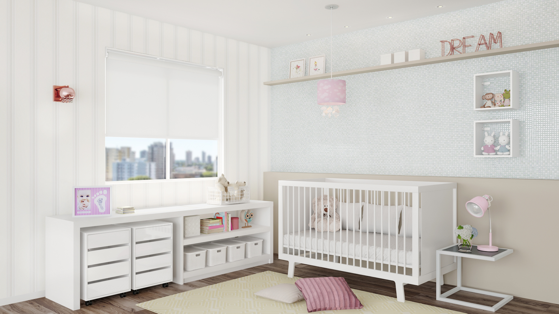 79f89163da Quarto de Bebê com Berço - Quarto de Bebê