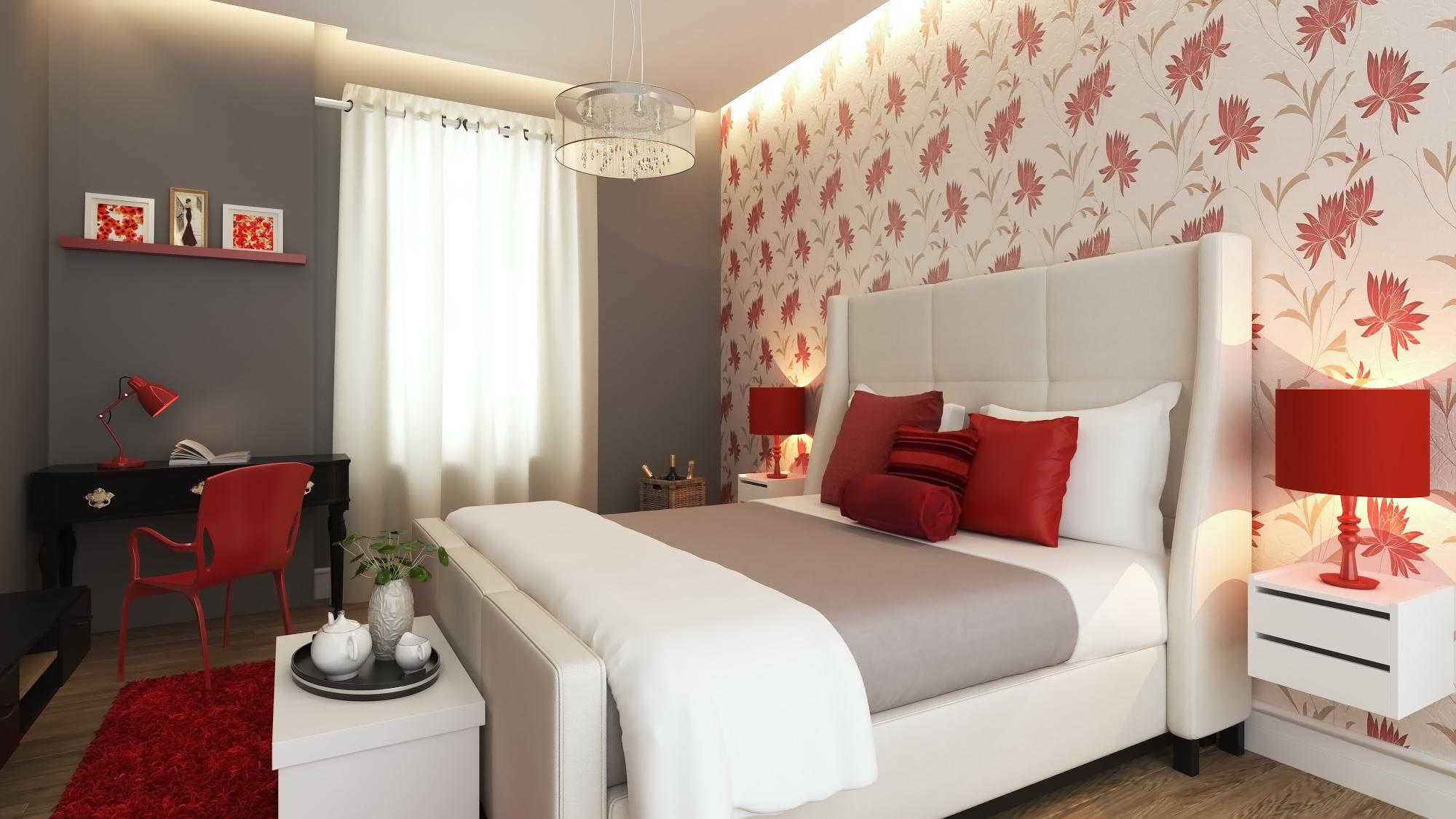 Glamorous Bedroom Quarto De Casal Com Decora 231 227 O Rom 226 Ntica