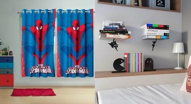 Quarto de super-herói: 5 itens que você encontra na Leroy para decorar o espaço do seu filho