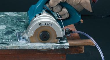 Realize cortes precisos com a serra mármore