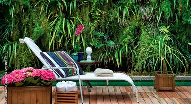 Renda-se aos benefícios do jardim vertical