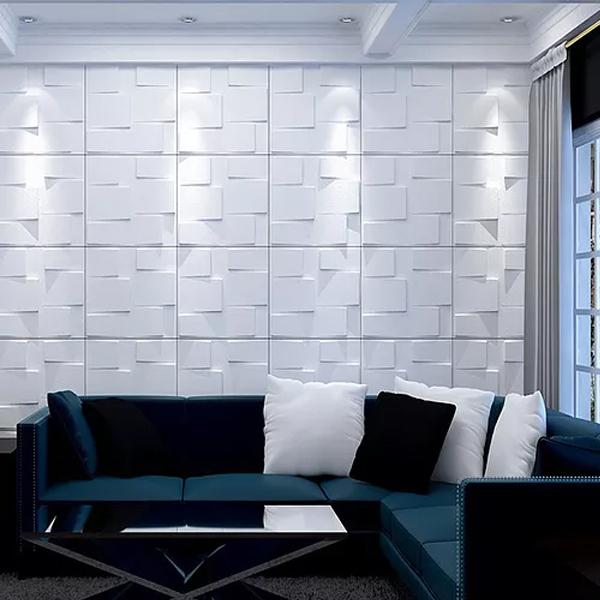 Revestimento 3D: conheça os modelos de poliestireno e cerâmica que provocam uma verdadeira ilusão de ótica na parede