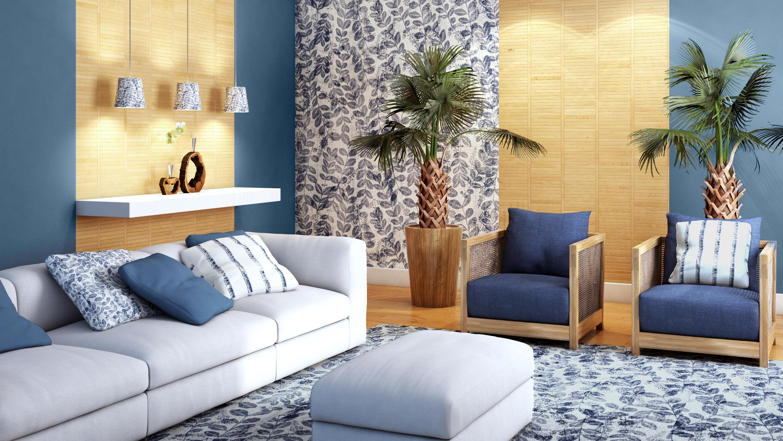 Sala Confort Vel Com Refer Ncias Naturais Leroy Merlin -> Tapete De Sala Pintado