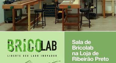 Sala de Bricolab na Loja de Ribeirão Preto