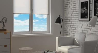 Sala de estar neutra