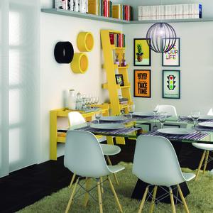 Sala de jantar com decora o amarela leroy merlin for Tappeti sala leroy merlin