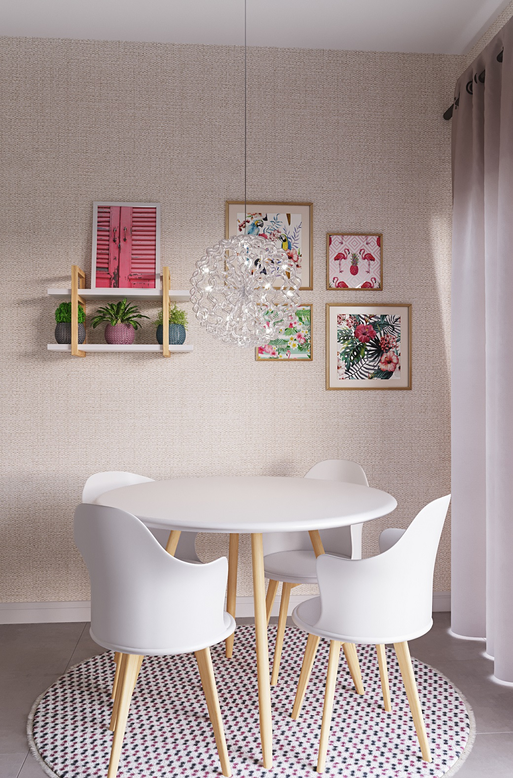 Sala De Jantar Pequena Decorada Leroy Merlin -> Casa Sala De Tv Sala De Jantar A Fazenda