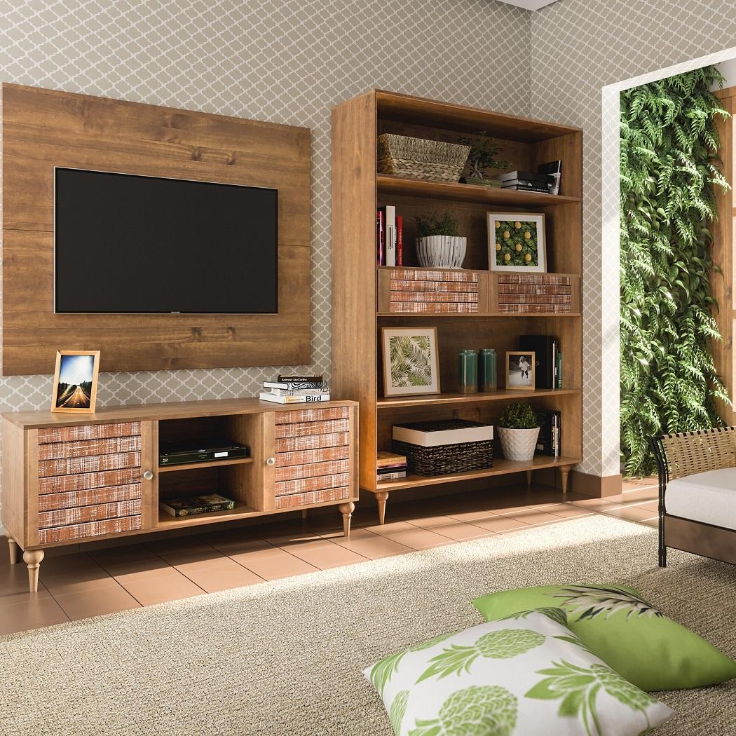 Sala De Tv Em Casa De Fazenda Leroy Merlin -> Casa Sala De Tv Sala De Jantar A Fazenda