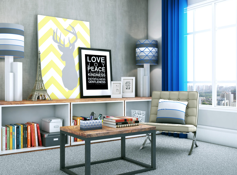 Sala moderna e descontra da leroy merlin for Salas de estar modernas y pequenas