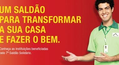 6a3048f754 Saldão Solidário 2013  conheça as Instituições beneficiadas