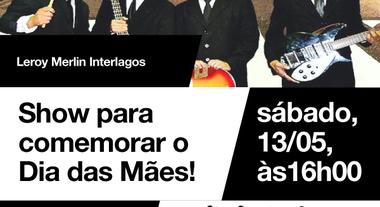 Show para comemorar o Dia das Mães na Loja de Interlagos