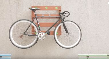 Suporte de parede para bicicleta: passo a passo de como fazer um modelo com pallet de madeira