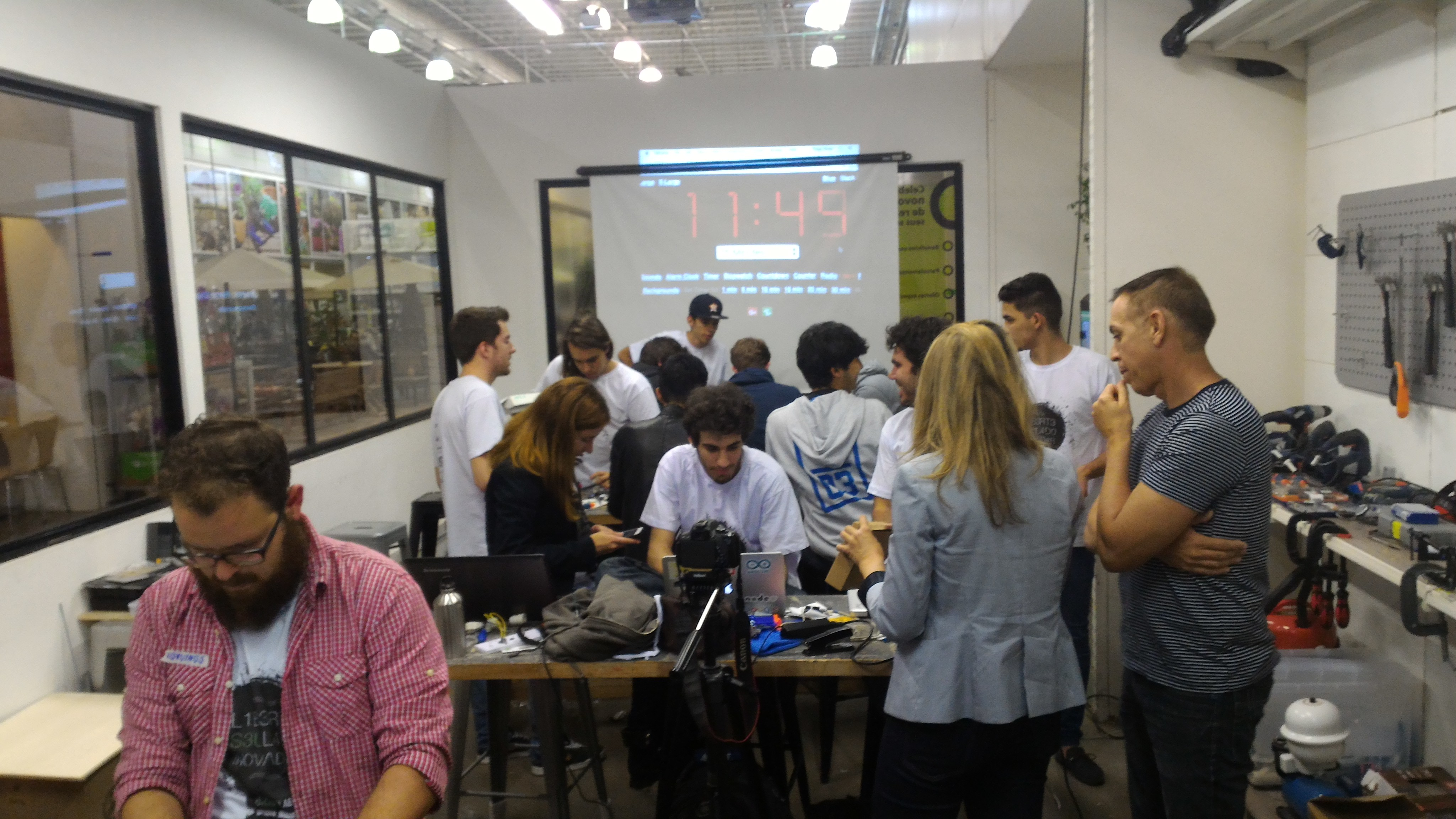 Hackathon de makers