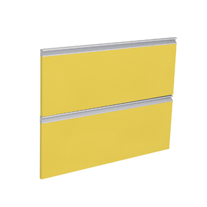 1 Gaveta e 1 Basculante Grenoble com Freio Cristallo Amarelo 2D90