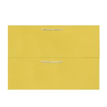 1 Gaveta e 1 Basculante Paris com Freio Cristallo Amarelo 2D80