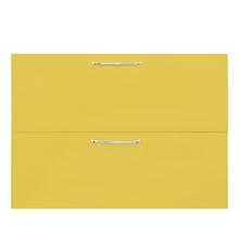 2 Gaveta e 1 Basculante Paris com Freio Cristallo Amarelo 2D90