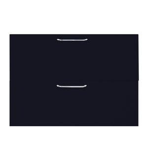 2 Gaveta e 1 Basculante Paris com Freio Cristallo Preto 2D80