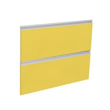 2 Gaveta Grenoble com Freio Cristallo Amarelo 2D80