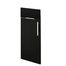 2 Porta + 1 Gaveta Paris /Cristallo Preto FD50