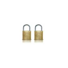 2 Cadeados com chave simples 30mm Papaiz
