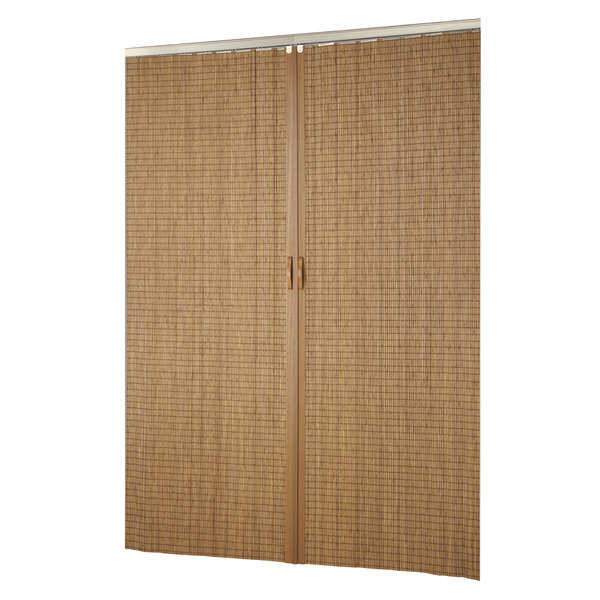 Porta montada sanfonado lisa madeira ambos os lados 2 10x0 - Porta carta igienica leroy merlin ...