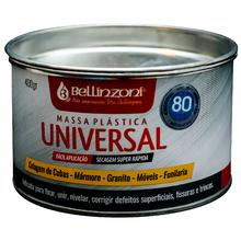 Massa plast cinza 400g bellinzoni