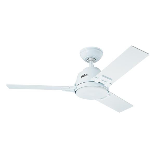Ventilador de teto 3 p s branco philippe hunter 220v for Leroy merlin ventiladores