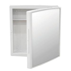 Armário de Banheiro Abs Emb/Sob 0,34x0,37cm Branco