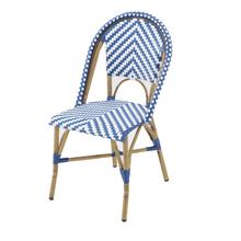 Cadeira Fibra Búzios Azul 88x56cm