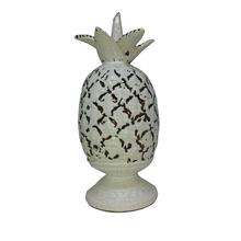 Abacaxi Cerâmica 23cm Branco