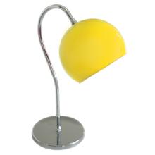 Abajur Pantoja&Carmona ABT 355 Redondo Metal e Vidro Amarelo Bivolt