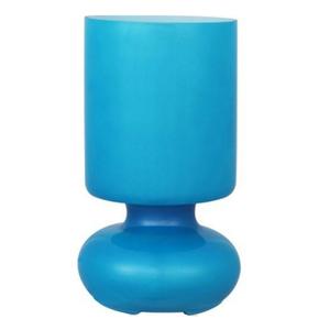 AbajurInspire  Bogota Redondo Vidro Azul Bivolt