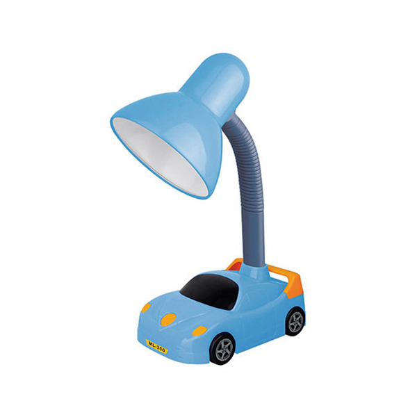 Lumin ria de mesa infantil kin redondo metal azul 1 for Mesas infantiles leroy merlin