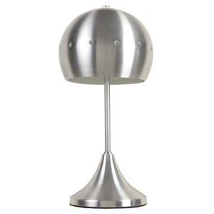 Abajur Metal 30,5x12cm Prata Thema Star