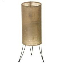 Abajur Metal/Juta 37x12cm Bege CFA