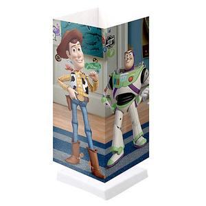 Abajur Polipropileno Toy Story 30x11,5cm Estampado Startec
