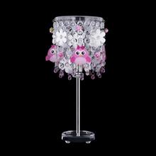 Abajur Rosa Metal e Tecido Kiki Flower Bivolt