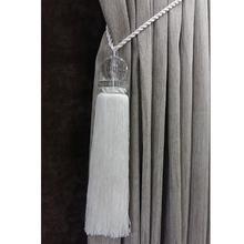 Abraçadeira Acrílico Transparente Branca